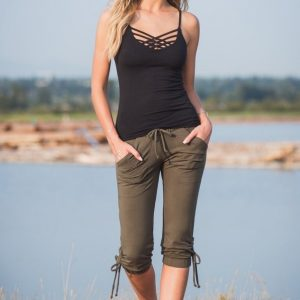 Lotus Tank DARK GREY MELANGE